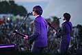 7751 - Photo de musique, spectacle et concert : The Rabeats aux Paléo festival de Nyon - 2005