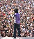 8033 - Photo de musique, spectacle et concert : Jamie Cullum au Paléo festival de Nyon - 2005