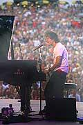 8037 - Photo de musique, spectacle et concert : Jamie Cullum au Paléo festival de Nyon - 2005
