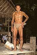 9448 - Photo : Hommes-fleurs, Mentawais, île de Siberut, Indonésie
