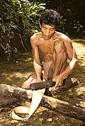 9453 - Photo : Hommes-fleurs, Mentawais, île de Siberut, Indonésie