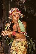 9455 - Photo : Hommes-fleurs, Mentawais, île de Siberut, Indonésie