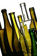 9619 - Photo : bouteilles de vins - bottles wines