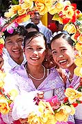 9645 - Photo : Philippines, Cebu, fête du festival Sinulog - Asie, Asia