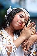9671 - Photo : Philippines, Cebu, fête du festival Sinulog - Asie, Asia
