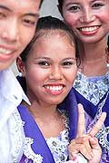9674 - Photo : Philippines, Cebu, fête du festival Sinulog - Asie, Asia