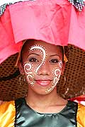 9730 - Photo : Philippines, Cebu, fête du festival Sinulog - Asie, Asia
