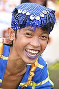9754 - Photo : Philippines, Cebu, fête du festival Sinulog - Asie, Asia