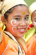 9760 - Photo : Philippines, Cebu, fête du festival Sinulog - Asie, Asia