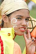 9761 - Photo : Philippines, Cebu, fête du festival Sinulog - Asie, Asia