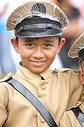 9770 - Photo : Philippines, Cebu, fête du festival Sinulog - Asie, Asia