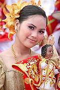 9777 - Photo : Philippines, Cebu, fête du festival Sinulog - Asie, Asia