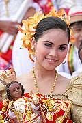 9778 - Photo : Philippines, Cebu, fête du festival Sinulog - Asie, Asia