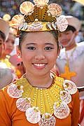 9789 - Photo : Philippines, Cebu, fête du festival Sinulog - Asie, Asia