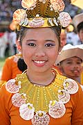 9790 - Photo : Philippines, Cebu, fête du festival Sinulog - Asie, Asia