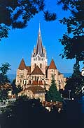 9920 - Photo: Suisse, Ville de Lausanne, la Cath�drale - city of Lausanne - Switzerland